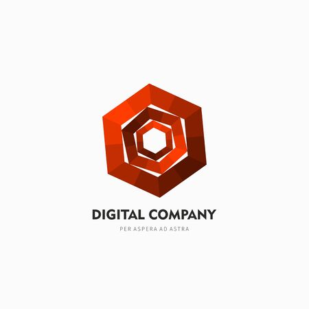 logotypes: Modern abstract vector logo or element design. Best for identity and logotypes. Simple shape.