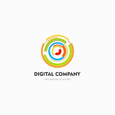 business backgound: Modern abstract vector logo or element design. Best for identity and logotypes. Simple shape.