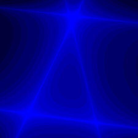Blue fantasy crossing rays photo