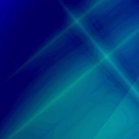 bluegreen: Blue-green fantasy background (rays) Stock Photo