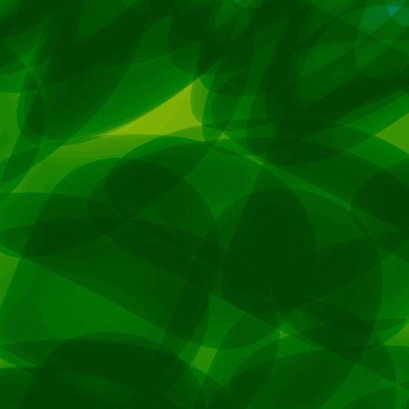 Green fantasy background illustration illustration