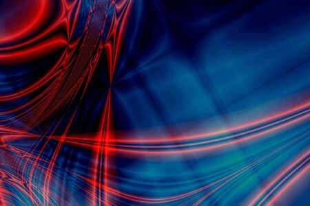 Red-blue abstract cosmos background photo