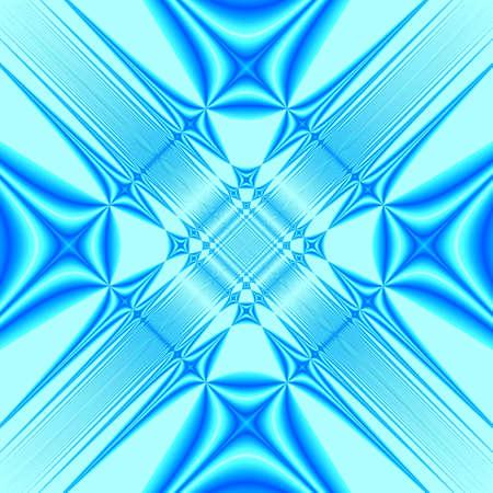 Blue fantasy mirror background Stock Photo - 682888