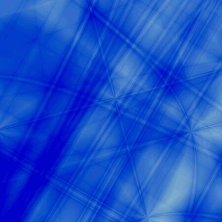 iteration: Blue fantasy background