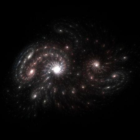 Fantasy starfield background (nebula)  photo