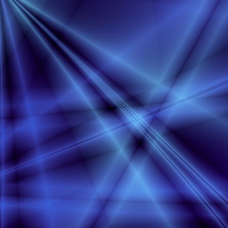 hyperspace: Blue fantasy background