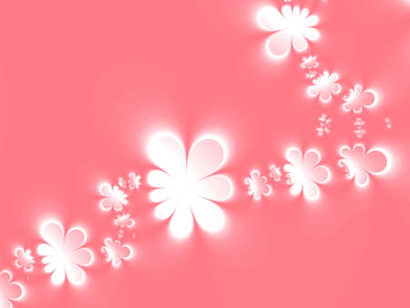 Abstract pink floral background Stock Photo - 930204