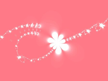 Abstract pink floral background Stock Photo - 938258