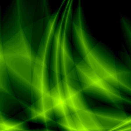 lost in space: Green fantasy background