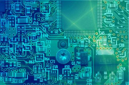 industry electronic: High technology - computer electronics (macro)