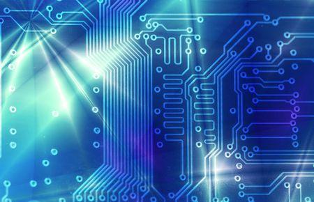 outputs: High technology - computer electronics (macro)