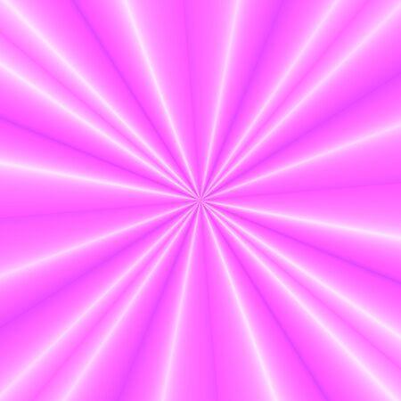 phenomena: Fantasy rays on pink background Stock Photo