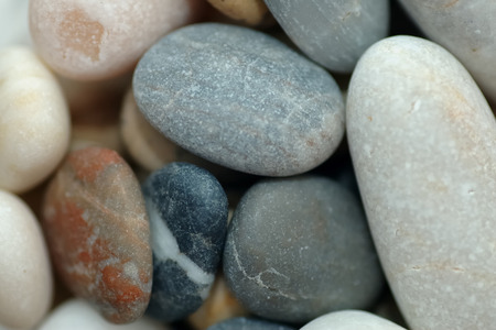 Beach pebbles background photo