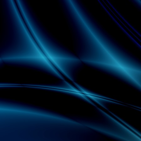 hyperspace: Blue fantasy on black background Stock Photo