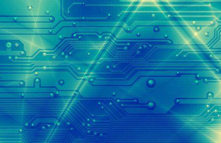 circuitos electronicos: Alta tecnolog�a - la computadora electr�nica de fondo