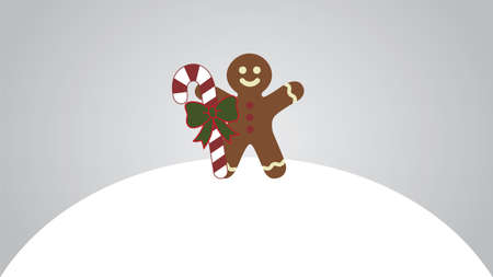 christmas cookie: Gingerbread man.