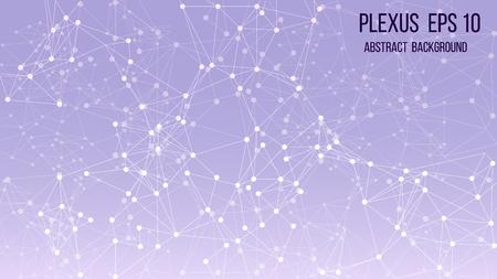 Abstract plexus background