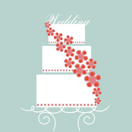 vector wedding card Vector