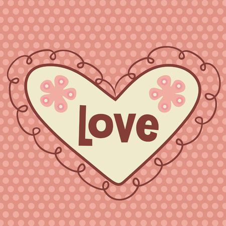 crimp: valentines day card design