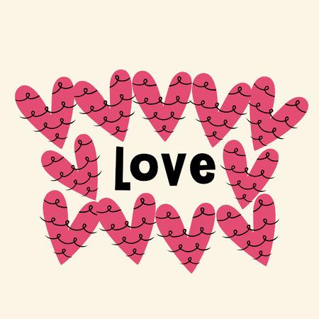 love card design Stock Vector - 5057905