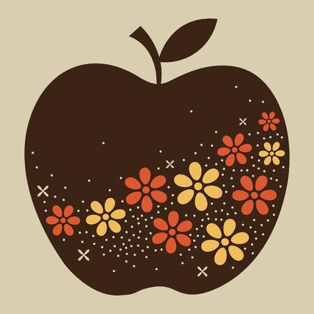 De diseño de Apple de vectores Foto de archivo - 5440828