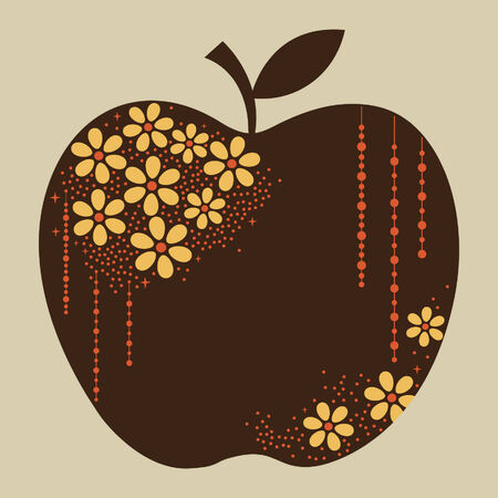 vector apple design Stock Vector - 5440842