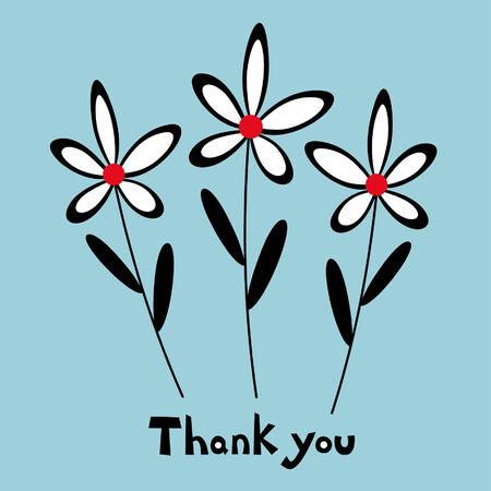vector floral card design