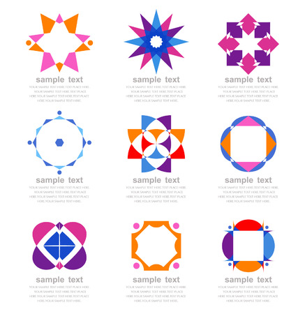 set of graphic elements Vector