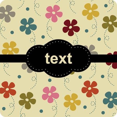 flower background design Stock Vector - 5649596