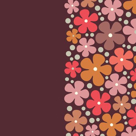 flower background design Stock Vector - 5844222