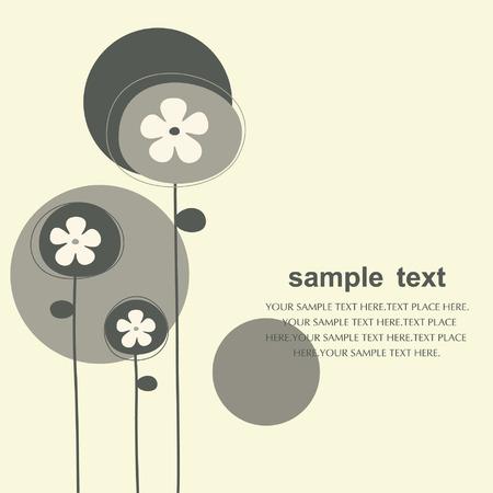 floral backgrounds design Stock Vector - 5844216