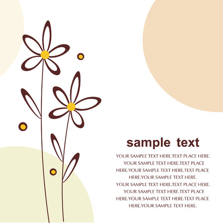 floral backgrounds design Stock Vector - 5844223