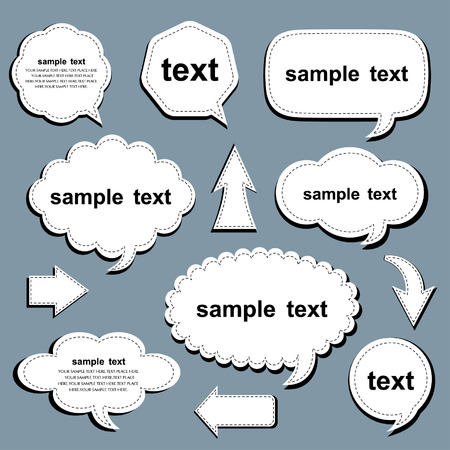 set of speech and thought vector elements Vector