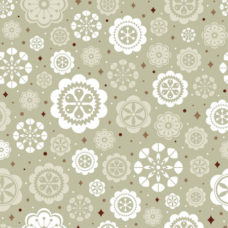 pattern flower background Stock Vector - 6278523