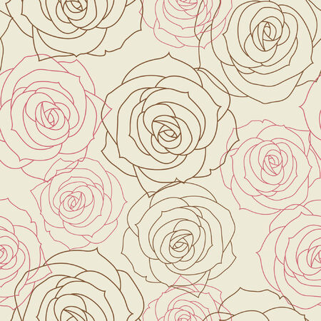 Beautiful floral seamless background