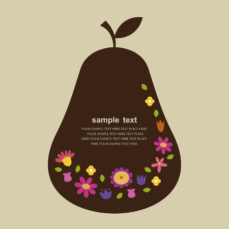 pear design Vector