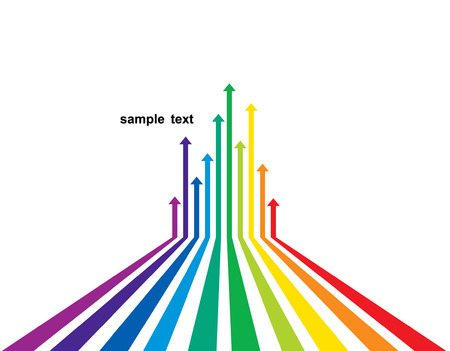 Colored arrows  Stock Vector - 6953762