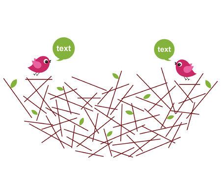 nest: birds