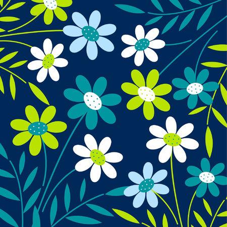 벡터 꽃 배경 디자인
