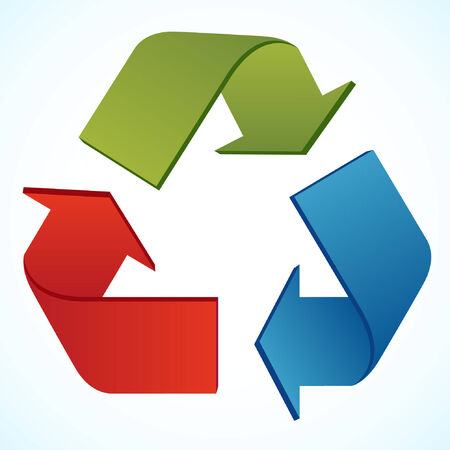 recycle icon  Stock Vector - 7536537