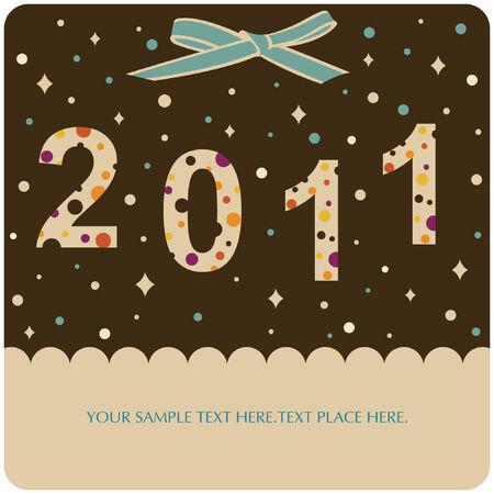 yearrn: new year 2011 background