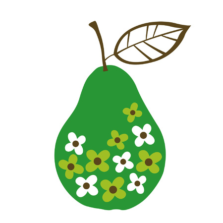 wallpaperrn: pear design  Illustration