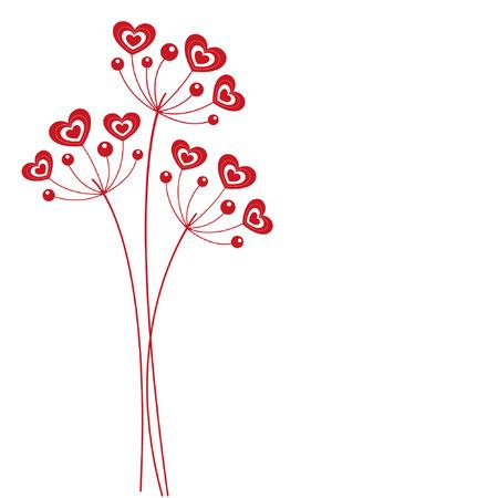 rnart: hearts flower