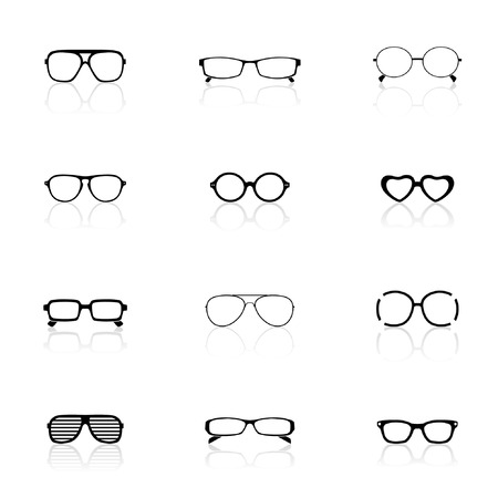 Icon Set, Sunglasses  Stock Vector - 7771113