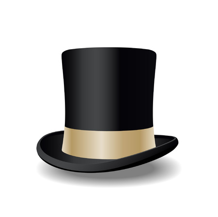 top hat Stock Vector - 7864284