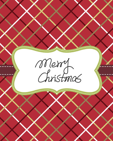 Template frame design for xmas card  Stock Vector - 7936751