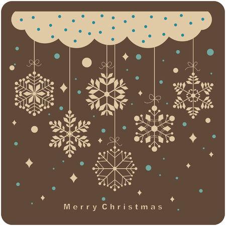 seasonal symbol: conjunto de antecedentes de copos de nieve  Vectores