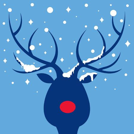 flack:   elk of christmas card