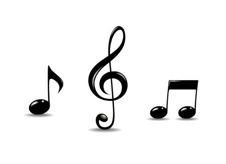 tones: Music symbols
