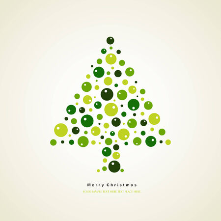 tree of christmas card